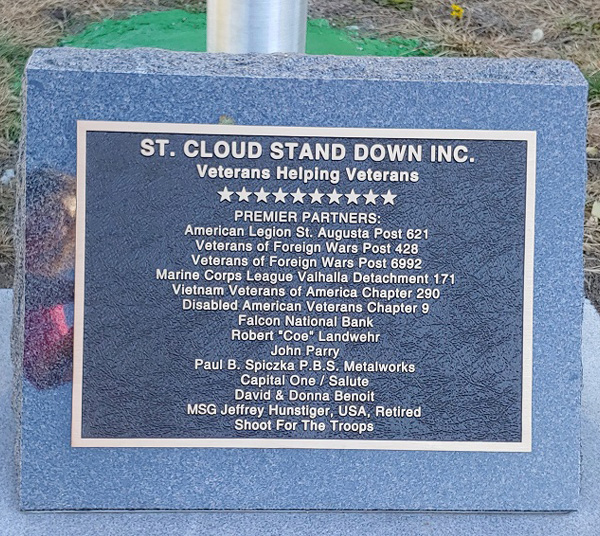 Facility | StandDown Flagpole Base