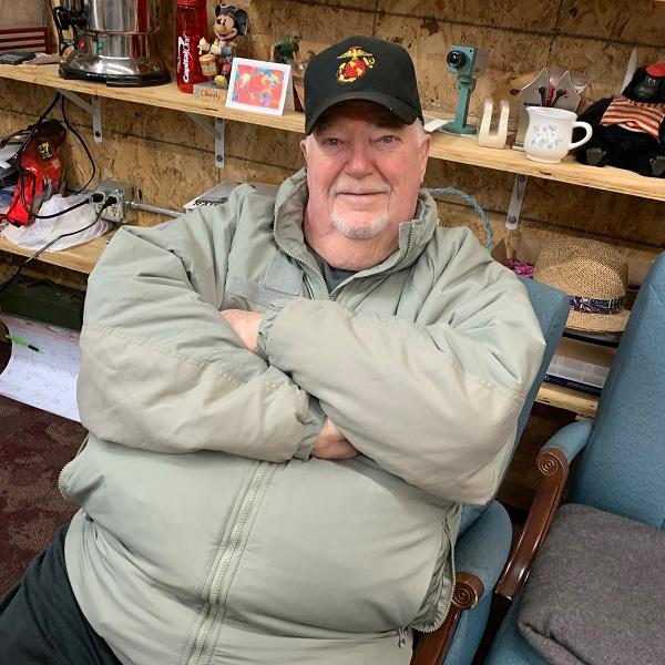 Volunteer John Scheel | Marine