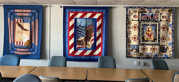 Volunteer Ron Hauspe | Beautiful Quilts