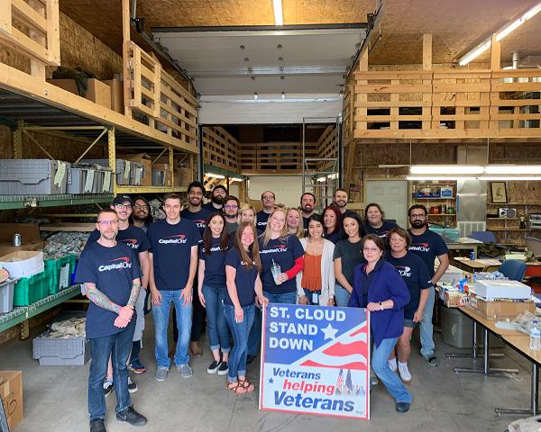 Volunteer Capital One